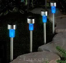Solar Lights Garden Blue Solar Lights Crafts Home
