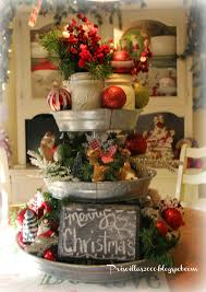 christmas centerpiece idea this 3 tiered tray from sam u0027s club