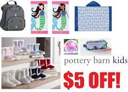 Pottery Barn Free Shipping Codes Coupons And Freebies 5 Off Any 5 Pottery Barn Kids Order