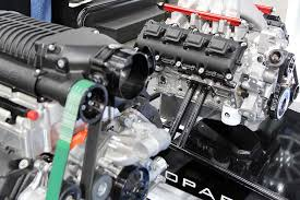 Dodge Viper Engine - an all wheel drive challenger the supercharged drag pak and a