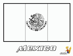 mexico flag coloring page lezardufeu com