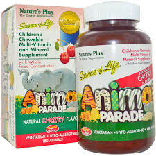 s kitchenware parade nature s plus source of animal parade children s chewable