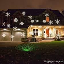 2016 outdoor laser lights snowflake projector
