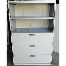 hon five drawer file cabinet hon 5 drawer flip door lateral file used storage used