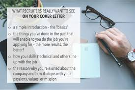 what recruiters really want to see on your cover letter the prepary