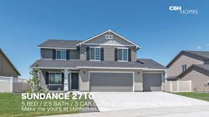 3 Car Garage House Cbh Homes Sundance 2710 5 Bed 2 5 Bath 3 Car Garage