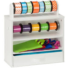 Kitchen Wrap Organizer by Gift Wrap Storage And Organization Organize It