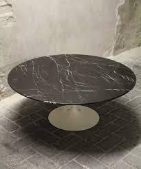 coffee table saarinen tulip side table arabescato marble coffee
