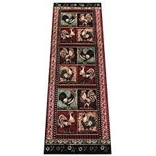 Rooster Runner Rug Rooster Style Area Rug Runner 2 Ft 2 In X 7 Ft 2 In