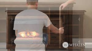 whalen how to install decorative fireplace insert panel youtube