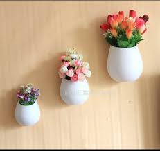 simple home decoration creative ceramic wall pots simple home decoration flowerpot