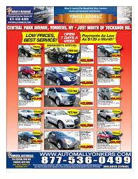 newspaper car ads newspaper ad yonkers automall