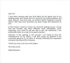 Explanation Letter Due To Negligence explanation letter for mistake at work sle professional letter