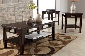 Coffee And End Table Sets Amazing Ottoman Coffee Table Industrial Coffee Table In Coffee And