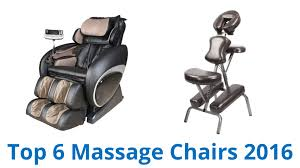 Top Massage Chairs 6 Best Massage Chairs 2016 Youtube