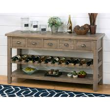 jofran slater mill wine rack server wine furniture at hayneedle