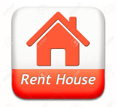 house for rent sign renting a flat room apartment or other