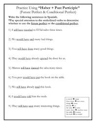 present perfect tense worksheets 4th grade