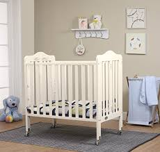 Mini Crib White Orbelle Tina Three Level Mini Crib White Baby Cribbed