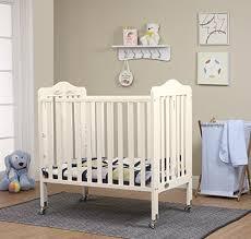 Mini Crib White Orbelle Tina Three Level Mini Crib White Baby Cribbed