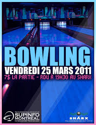 bowling party flyer by sainx971 on deviantart