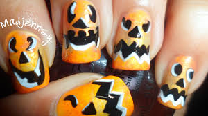 Halloween Remake 2013 by Pinterest Halloween Nail Designs