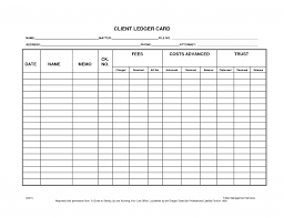 Free Ledger Template by Accounts Ledger Templates Print Paper Templates