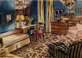 1940 Living Room Decor