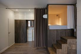 studio bazi creates sleeping box for minimalist apartment in moscow studio bazi creates sleeping box for minimalist apartment in moscow minimalist apartment studio bazi creates sleeping