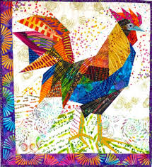 gallus gallus proquilter morna this is such a pretty rooster i