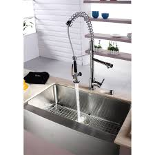 kraus khf200 33 kpf1602 ksd30ch stainless steel farmhouse kitchen kraus khf200 33 kpf1602 ksd30ch stainless steel farmhouse kitchen sink chrome faucet