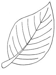 printable leaf printable tropical leaf shape printable leaf