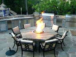 patio table with fire pit propane patio fire pits propane outdoor fire pits s pit kit me