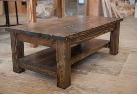 furniture charming rustic coffee and end tables designs brown