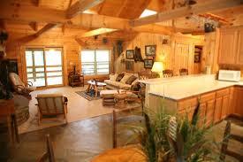 Two Story Log Homes by Luxury Two Story Log Cabin Silver Ridge Resort Eureka Springs