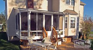 Sunrooms For Decks Screen Porch Panels For Sunroom Conversion