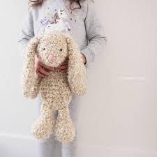 crochet floppy ear bunny hat pattern manet for