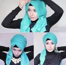 tutorial hijab nabiilabee hijab semi turban ala hijabers rusia nabiilabee