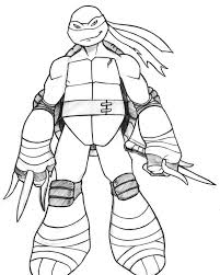 raphael coloring page kids coloring