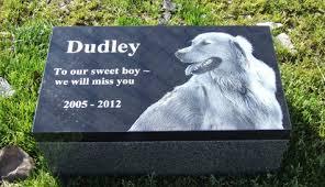 headstones for dogs garden memorials black granite cremation pet headstone