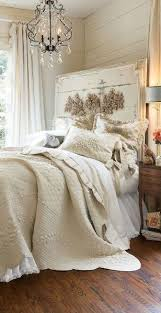 Shabby Chic Bedroom Chandelier Neutral Soft Surroundings French Market Inspiration Amazing