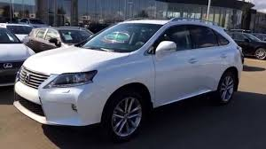lexus rx 350 all wheel drive 2015 white lexus rx 350 awd technology package review executive