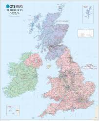 North European Plain Map by Mapsherpa Xyz Maps