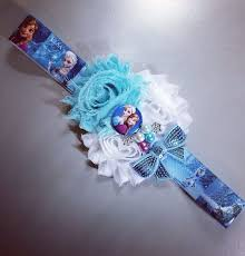 frozen headband 134 best flowers shabby princess images on hair bows