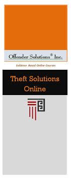 theft class online offender solutions brochure