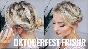 Oktoberfest Frisuren Lange Haare Einfach by Oktoberfest Frisur Sehr Leicht Für Kurze Und Lange Haare