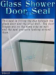 Shower Seals For Glass Doors Ds105 Frameless Glass Shower Door Seal Wipe Sweep