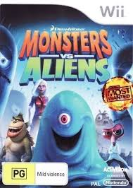 monsters aliens box shot wii gamefaqs