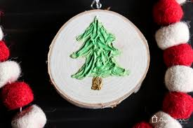 how to make ornaments with texture designertrapped