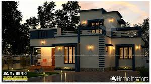 Square Feet Single Floor Contemporary Home Design - My home design